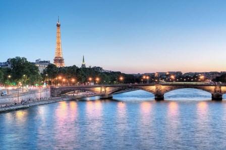 Twilight on the Seine by Alan Blaustein art print