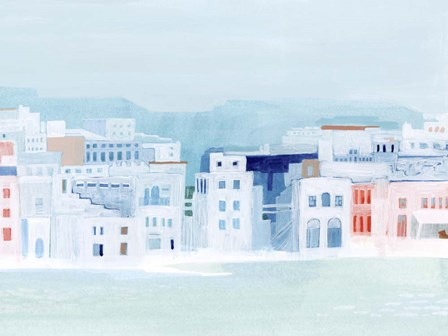 Fishing Town II by Grace Popp art print