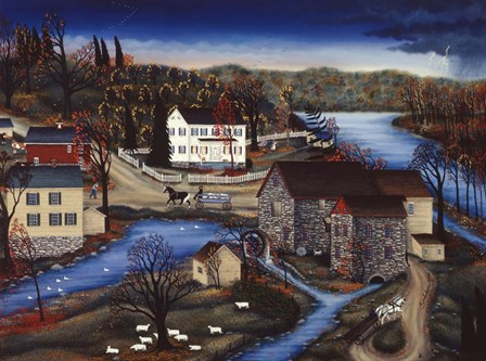Charles Mill by Kathy Jakobsen art print