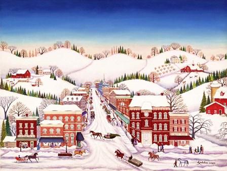 Winter In New Jersey by Kathy Jakobsen art print