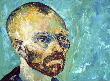 Vincent van Gogh by Natasha Mylius art print