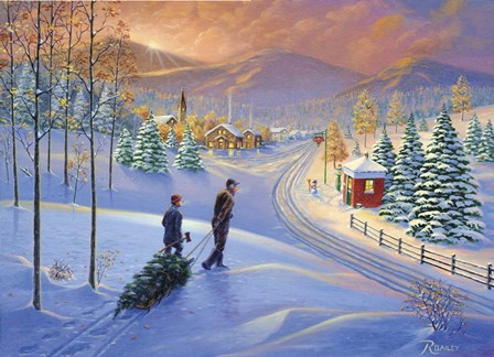 Holiday Tradition by Rod Bailey art print