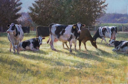 Dairy Cows by Svetlana Orinko art print