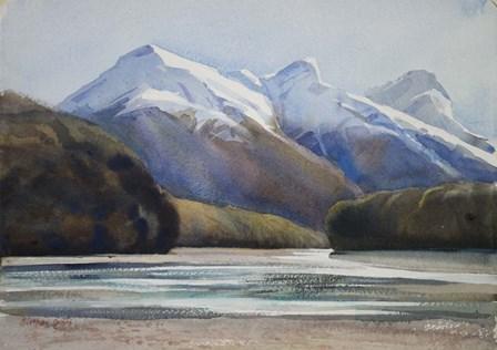 Dart River Valley, Paradise by Svetlana Orinko art print