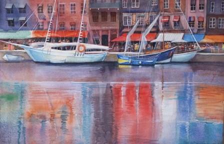 Honfleur Le Vieux Port by Svetlana Orinko art print