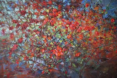 Japonica Blossoms by Svetlana Orinko art print