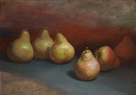 Pears by Svetlana Orinko art print