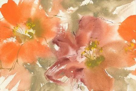 Tribal Lilies II by Chris Paschke art print