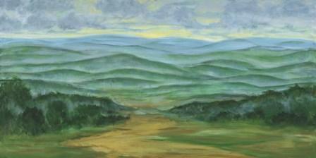 Misty Mountain View I by Julie Joy art print
