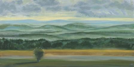 Misty Mountain View II by Julie Joy art print