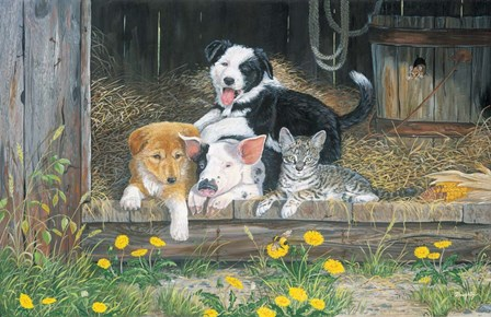Best Of Friends by Terry Doughty art print