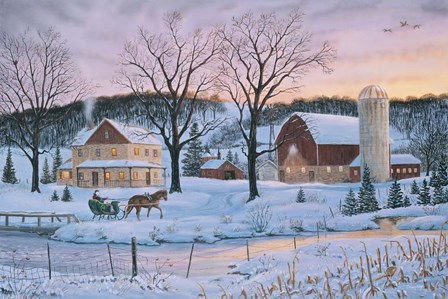 Winter Memories by Terry Doughty art print