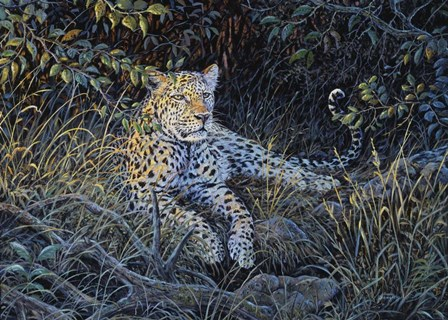 Night Of The Hunter by Terry Doughty art print