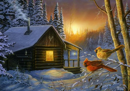 Golden Frost by Terry Doughty art print