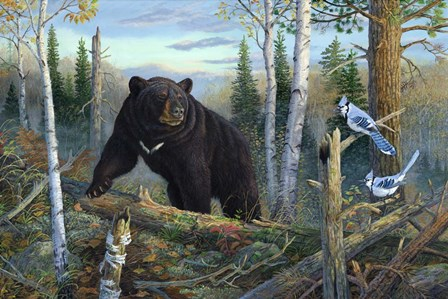 Surprise Encounter by Terry Doughty art print