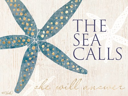 The Sea Calls by Kate Sherrill art print