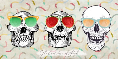 The Evolution of Style by Steven Hill art print