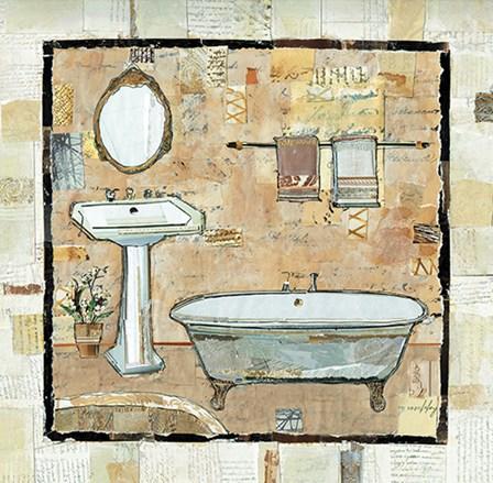 Bath Scene I by A.V. Art art print