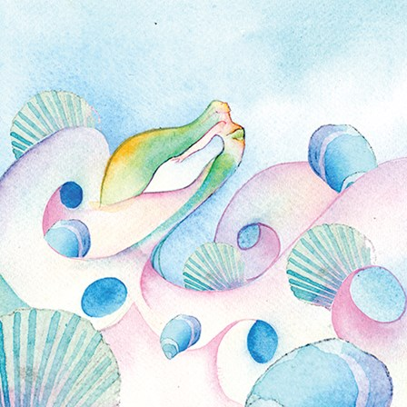 Mother of Pearl by A.V. Art art print