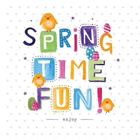 Spring Time Fun by A.V. Art art print