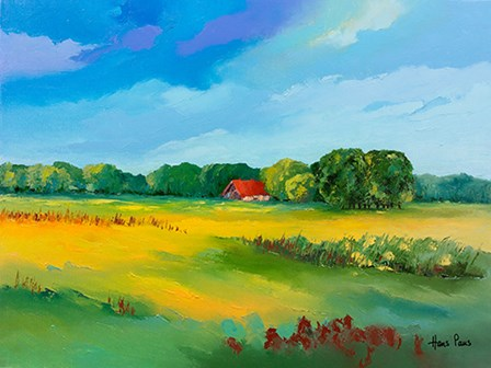 Farmhouse by A.V. Art art print
