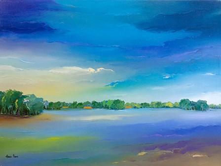 Landscape by A.V. Art art print