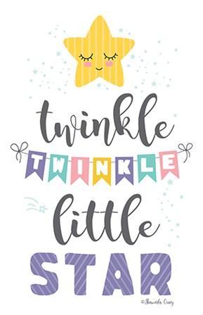 Twinkle Little Star by Shawnda Craig art print
