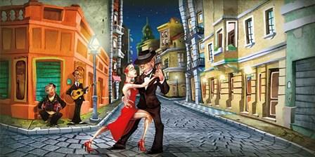 Tango by Adam Perez art print