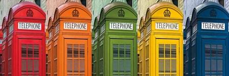 Hello London by Assaf Frank art print