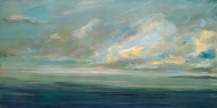 Shoreline by Karen Lorena Parker art print