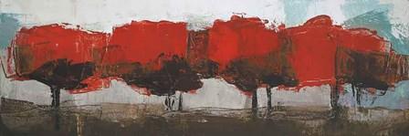 Fall Row by Martin Shire art print