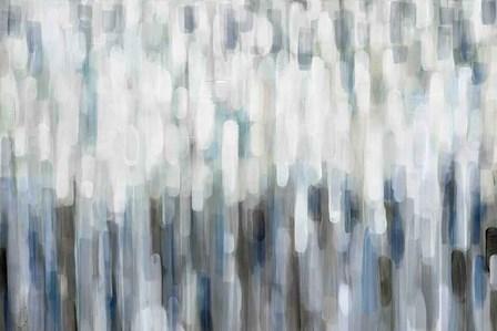 Silver Rain by Karen Lorena Parker art print