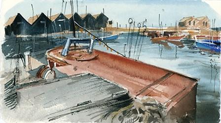 Nautical Scape II by Sophia Rodionov art print