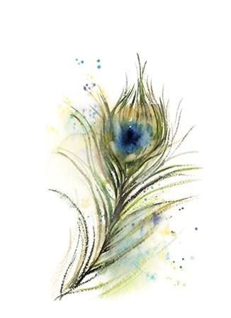 Peacock Feather II by Sophia Rodionov art print