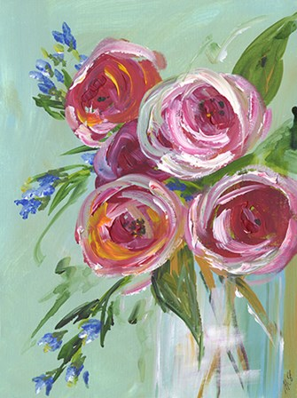Floral Still Life by Molly Susan Strong art print