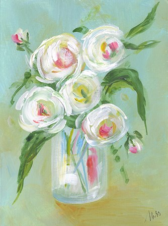 Floral Still Life III by Molly Susan Strong art print