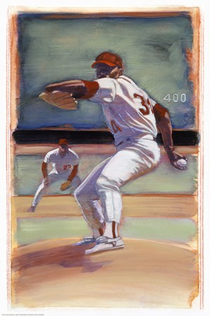 Baseball I by Yellow Café art print