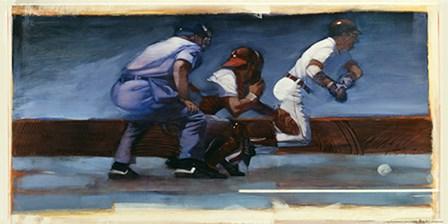 Baseball II by Yellow Café art print