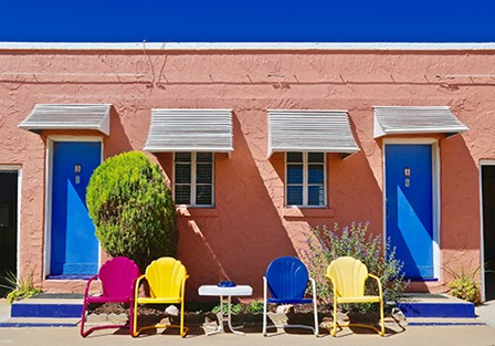 Curb Appeal by Yellow Café art print