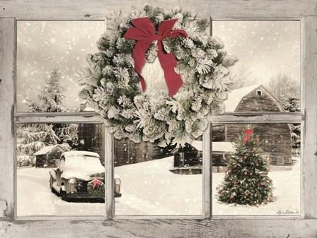 It's Cold Outside by Lori Deiter art print