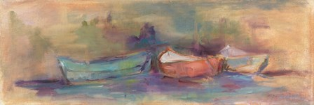 Rowboat Row by Tracy Owen-Cullimore art print