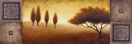 Warm Horizon I by Michael Marcon art print