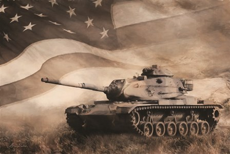 The Liberator Tank by Lori Deiter art print
