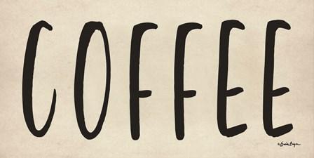 Coffee by Susie Boyer art print