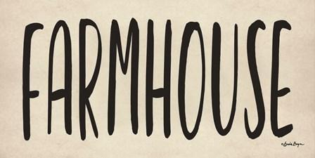 Farmhouse by Susie Boyer art print