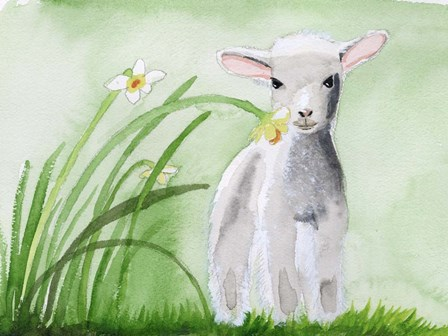 Baby Spring Animals IV by Alicia Ludwig art print