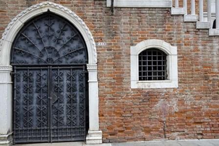 Windows & Doors of Venice VIII by Laura Denardo art print