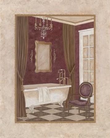 Luxury Bath II by Maria Donovan art print