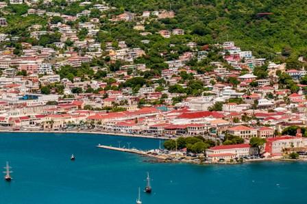 Charlotte Amalie, St Thomas, US Virgin Islands by Michael DeFreitas / Danita Delimont art print