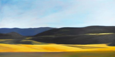 Landforms by Carolyn Caldwell art print